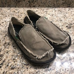 Sanuk Vagabond Shoes Size 13